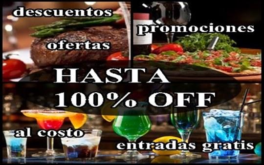 CUPONES CON DESCUENTOS HASTA 100% OFF